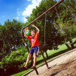 jack jumping from swing