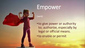 Empower Yourself Today Baby!